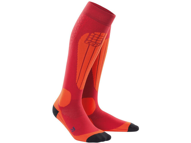 cep Thermo - Calcetines Hombre - naranja/rojo